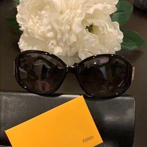Fendi Sunglasses Black NWOT